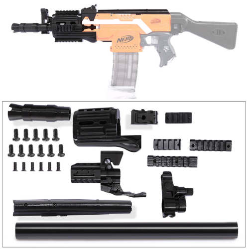 Worker f10555 3D Printing NO.105 Series Short Type Modified Kit for Nerf Stryfe