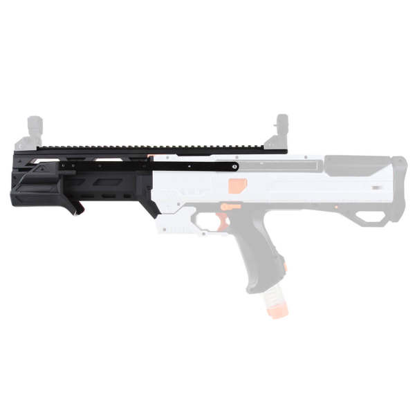 Worker F10555 3D Printing No.196 Pull-down pump Kit for Nerf Rival Phantom Corps Helios XVIII-700 - Black