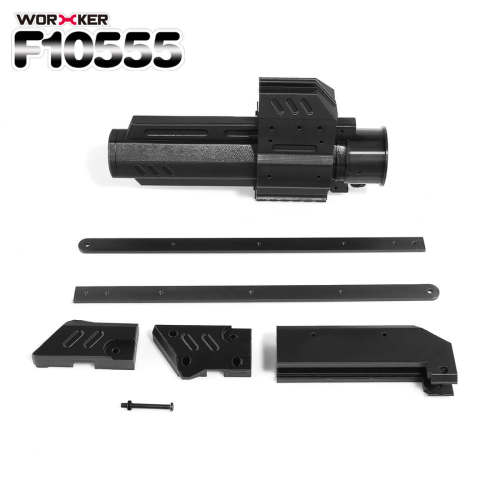 Worker f10555 3D Printing Pull-down Kit for Nerf Rival Apollo XV-700 - Black