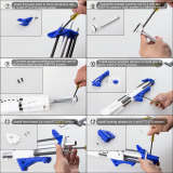 Upgrade Worker F10555 No.209 Caliburn Blaster - Blue White