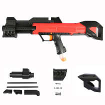 Worker F10555 3D Printing barrel Apollo PUmp kit Pull-down Kit Shoulder Stock for Nerf Rival Apollo XV-700 - Black