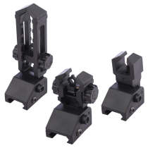 Worker Machinery Sighting Device PA Plastic Frosted Sight Vane for NERF - Black