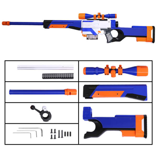 3D Printing Appearance Modification Kit for Nerf Retaliator