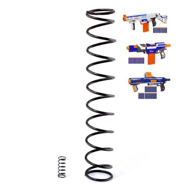 8.2KG Modified Steel Spring for Nerf Retaliator / Nerf Alpha Trooper / Nerf Rampage Blaster - Black