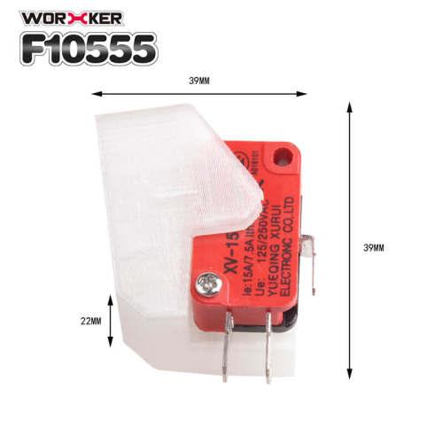 Worker F10555 No.204 Swordfish Switch Converter for Worker Swordfish Blaster - Transparent