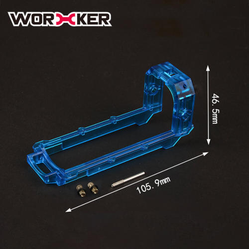 Worker Prophecy/Retalitor ABS Bolt Sled - Transparent Blue