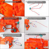 Worker Full-automatic Modified Kit for Nerf Stryfe full auto kit