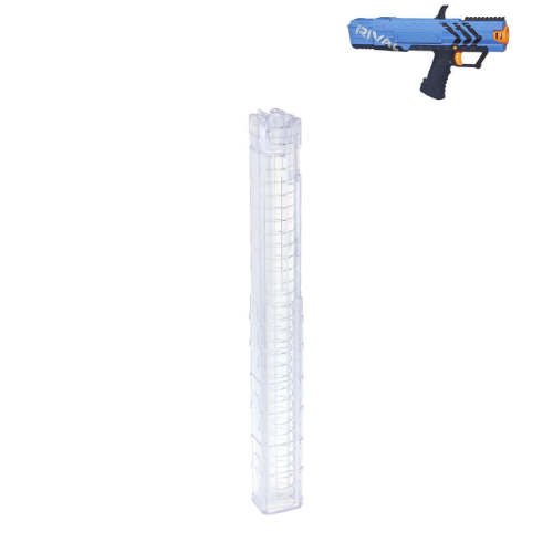 15 Rounds Magazine Reload Clip for NERF Rival Apollo XV-700 - Transparent