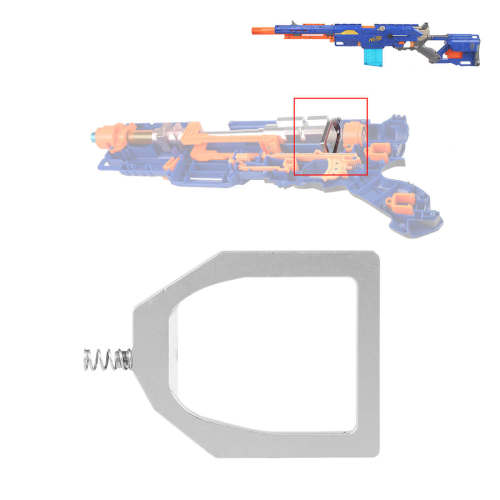 WORKER Universal Modified Kits set for NERF CS-6 LONGSTRIKE / NERF Modulus Longstrike