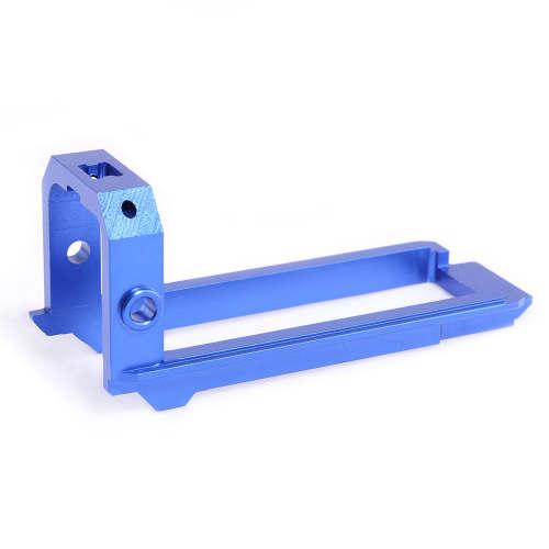 Artifact Mod Works Aluminum Alloy Slide Block for Nerf Retaliator - Blue
