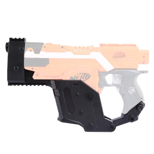 Worker Modified kriss vector Cover Shaped Toy Accessories kit for Nerf Stryfe - Black
