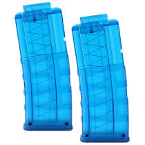 2pcs Worker 12 Short Dart Pmag Bullets Ammo Cartridge Dart Magazine Clip Tactical Bullet Clip for Nerf