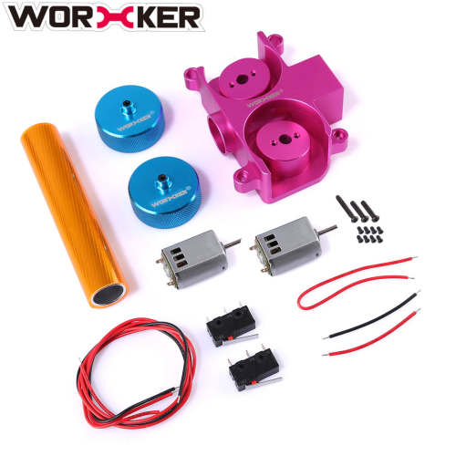 Worker Hyperfire Flywheel Kit for Nerf HyperFire (Diamond Pattern)