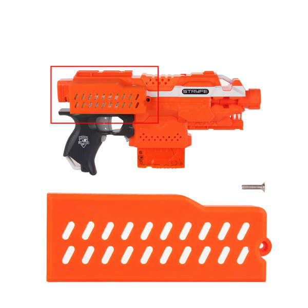 WORKER F0408 214 Extended Heightened Battery Cover for Nerf Stryfe