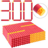 1000Pcs Pierced Soft Bullet Soft Darts