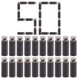 50pcs Soft Short Darts 3.8cm Whirlwind Flat Head Short Bullet for Nerf Converted Elite Retaliator