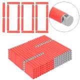 1000pcs Dart Refills Flat Soft Head Foam Bullets for Nerf 7.4cm x1.3cm