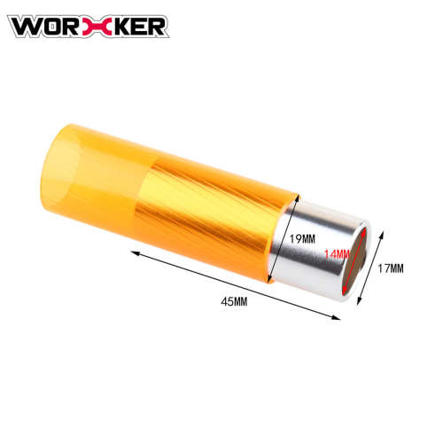 Aluminium Tube for Worker Hurricane Blaster - Silver + Orange