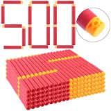 1000Pcs Pierced Soft Bullet Soft Darts