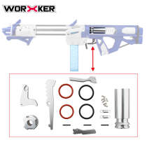 Worker Metal Parts Upgrade Kit for Worker Holy Sword Blaster - Silver