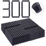 1000Pcs 7.2 x 1.3cm Enhanced Cushioning Flat Head Foam Dart