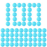 100pcs Round Soft Bullet Foam Bullets for nerf Rival series