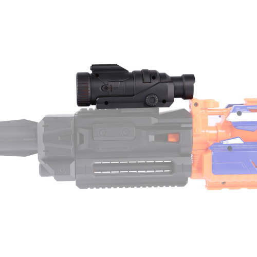 Modified Part Tactical Flashlight with Button Cell for Nerf External Modification