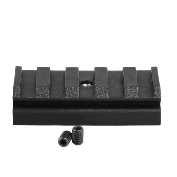 Worker 5CM Nylon Grooved Top Rail Mount Kit for Nerf with Track - Black