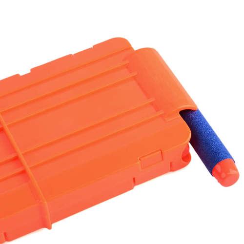 Soft Bullet Clips For Nerf N-strike Elite Series 12 Bullets Ammo Cartridge Dart Nerf Bullet Clips - Orange