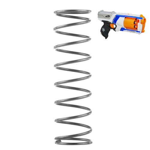 Modified 6KG Upgraded Spring for Nerf N-Strike Elite Strongarm Blaster - Black