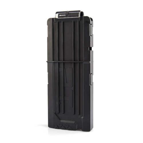 Frosted Soft Bullet Clips For Nerf N-strike Elite Series 12 Bullets Ammo Cartridge Dart Nerf Bullet Clips - Black