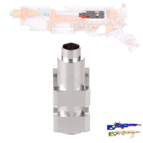 WORKER Universal Aluminium Tube for NERF CS-6 LONGSTRIKE / NERF Modulus Longstrike - Silver