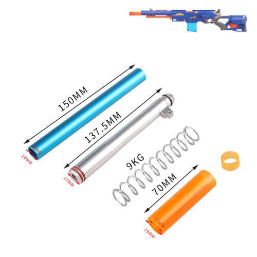 WORKER 3G-LJ-W0406 Short Darts Modification Kit for NERF CS-6 LONGSTRIKE