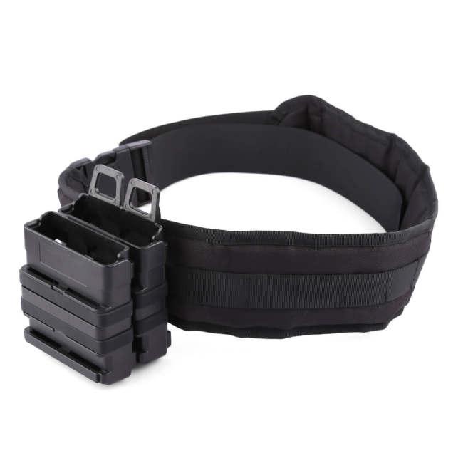 Magazine Clip Bullet Clip Holder Quick Pull Box for Nerf Tactics - Black