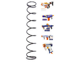 6KG Modified Steel Spring for Nerf N-Strike Elite Series - Black