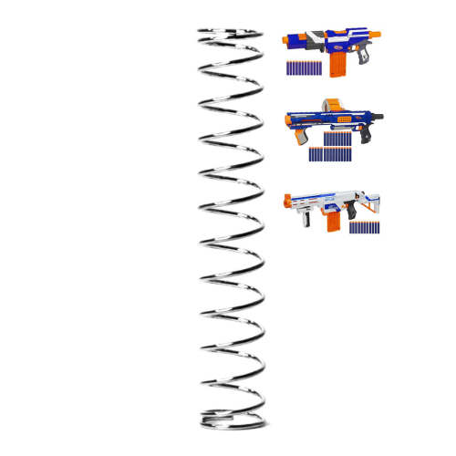 5KG+ Spring for Nerf Retaliator, Rampage, Elite Alpha Trooper CS-12 - Silver