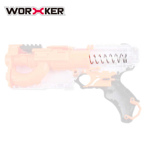 Worker 14KG/18KG Modified Upgrade Spring for Nerf Rival Phantom Corps Kronos XVIII-500 - Silver