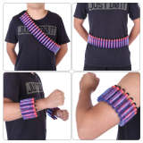 Soft Darts Sholder Belt Hand Strap Clip Storage Belt without Darts for Nerf Long Darts