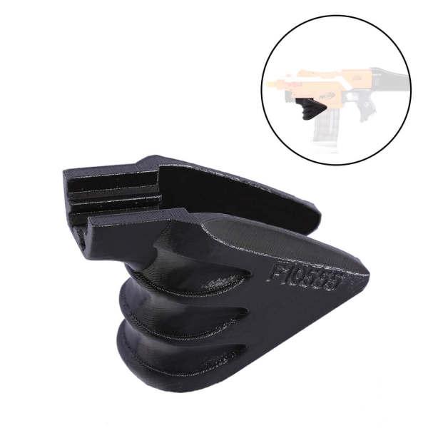 Worker f10555 3D Printing Decorative Holder Grip for Nerf Stryfe - Black