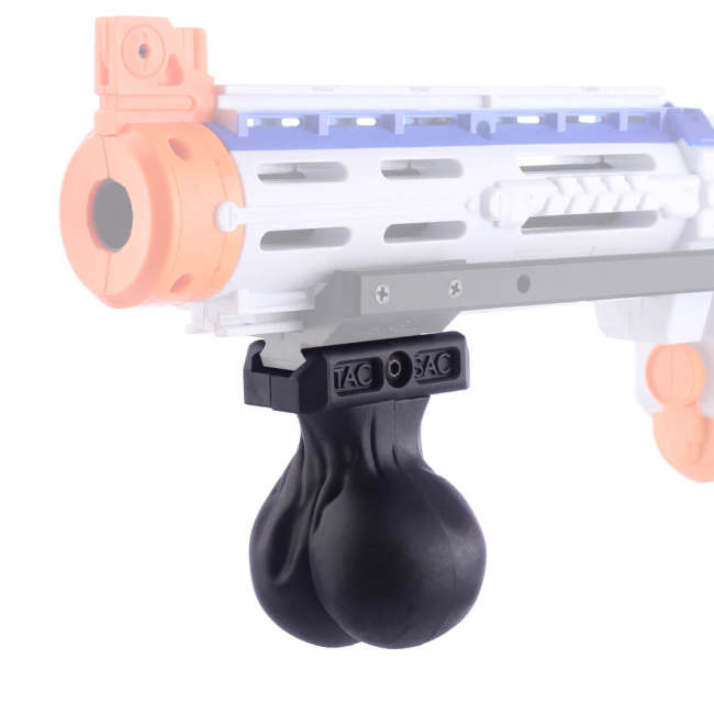 Tactical Modified Nylon Grip Appearance Modification Grip for Nerf - Black