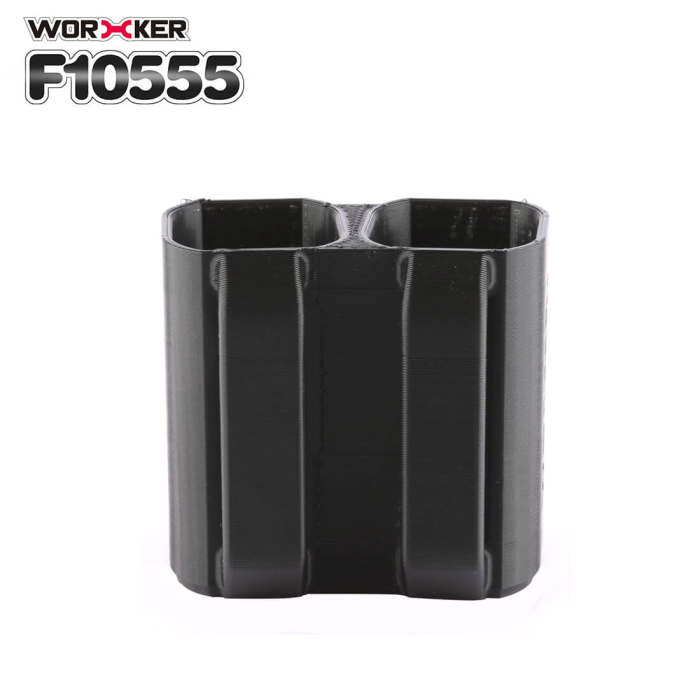 Worker F10555 3D Printing No.194 Tactics Bullet Clip Holder for Nerf Ball Cartridge - Black