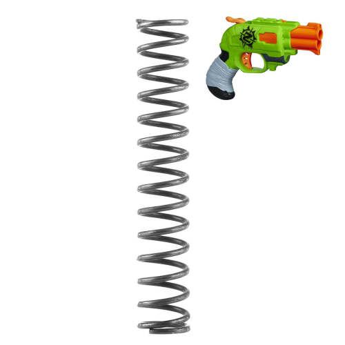 Modified 12KG Upgraded Spring for Nerf Zombie Strike Doublestrike Blaster - Black