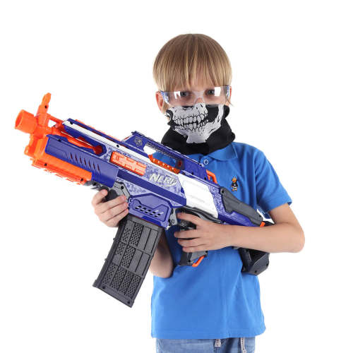 Soft Dart Shooting Protective Tactical Vest Set for Kids
