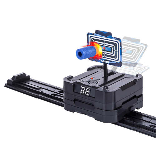 Electronic Automatic Moving Target for Nerf Water Beads Shooting Target