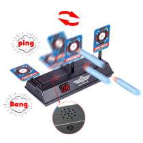 Scoring Auto Reset Demountable Electric Target for Nerf Blaster Gel Beads Blaster