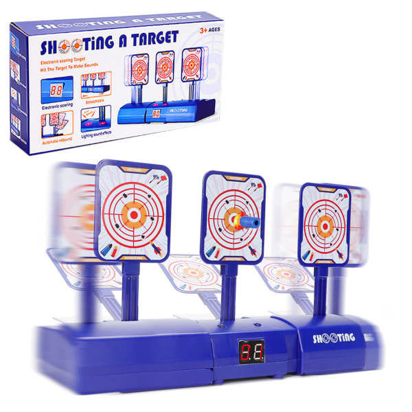 Electronic Scoring Auto Reset Shooting Moving Target Digital Target for Nerf Water Beads