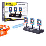 Scoring Auto Reset Demountable Electric Target for Nerf Blaster Gel Beads Blaster