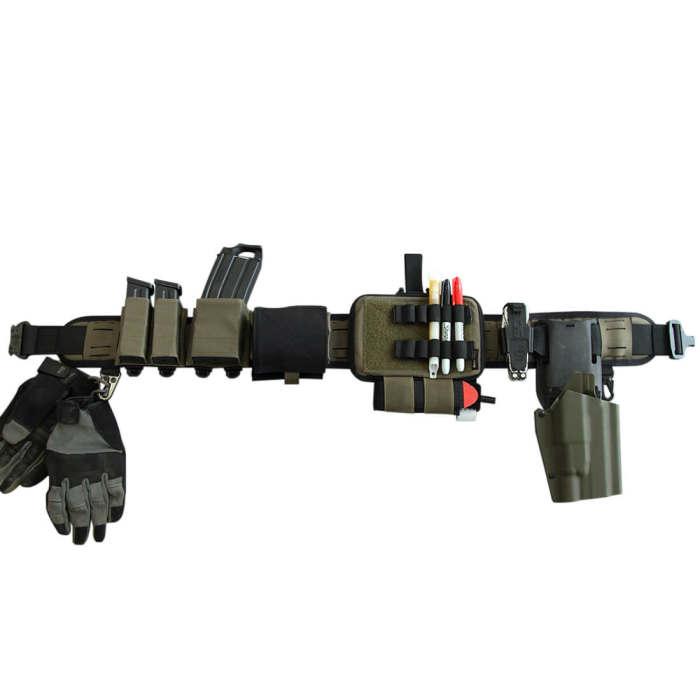 Bigfoot Orion 4.0 Laser Cutting Silicone Tactical Waist Belt Set