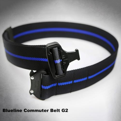 UTA Gen2 Thinblueline Belt Universal UA Armoured Quick Reverse Commuter Belt