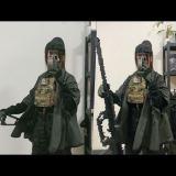 BACRAFT Tactical Combat Cloak Coat Jacket